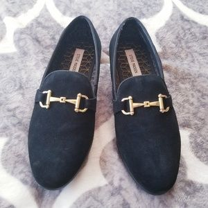 Steve Madden Coinage Bit Loafers Leather